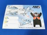 """AMX親子イルカ""""ATRみぞか""""ステッカー"""