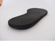 靴の中敷き 外側くさび型