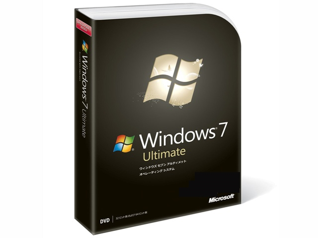 限定販売 Windos7 Ultimate  !!